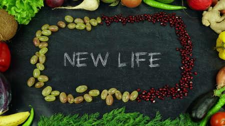 New life fruit stop motion 免版税图像 - 91546466