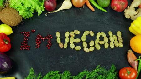 Am vegan fruit stop motion