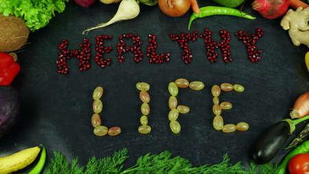 Healthy life fruit stop motion 免版税图像