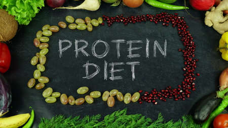 Protein diet fruit stop motion