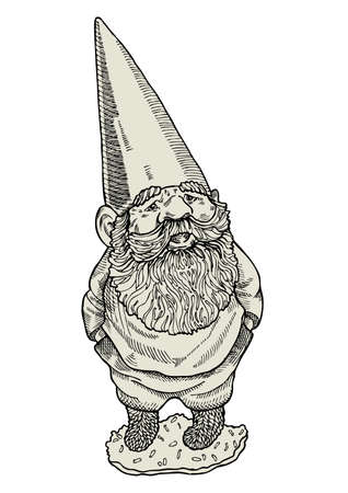 Gnome with hands in pockets
