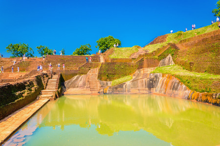 sigiriya: Sigiriya, Lion Rock Fortress on Sri Lanka island