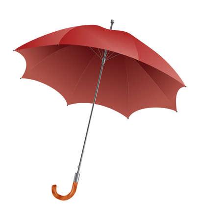 Red Umbrella Stock Vector - 16630963