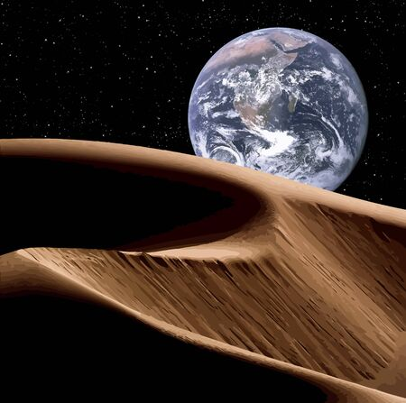 Earth In Space Stock Photo - 16633603