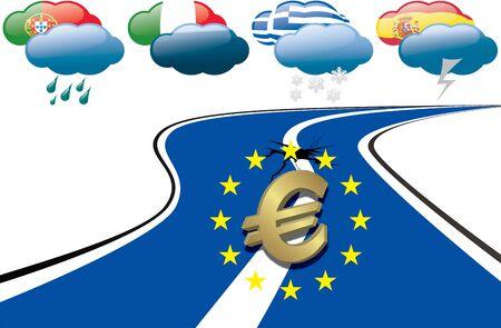 Euro Debt Crisis photo