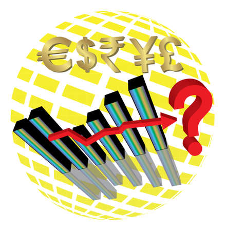 Economic Uncertainty Stock Vector - 16633613
