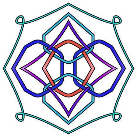 Abstract Celtic Knot
