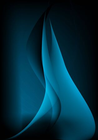 fuego azul: Fuego azul abstracto