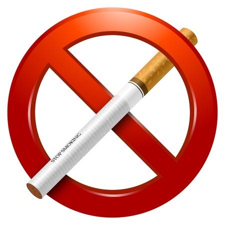 prohibido fumar: Muestra de no fumadores