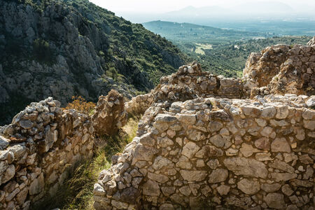 peloponissos: Mycenae, archaeological place at Greece Stock Photo
