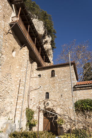 our lady: The monastery of Our Lady of Emialon at Dimitsana, Greece