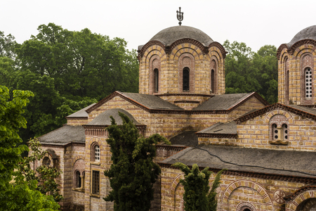 patriarchal: The Holy Patriarchal Monastery of Saint Dionysios of Olympus is the most important monastery in the prefecture of Pieria.