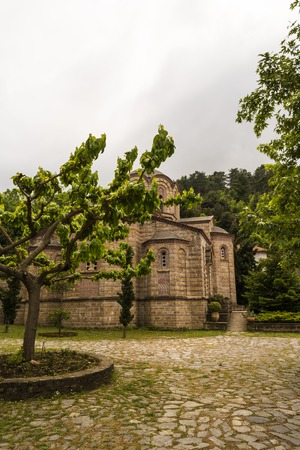 olympus: The Holy Patriarchal Monastery of Saint Dionysios of Olympus is the most important monastery in the prefecture of Pieria.