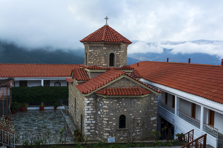 Christian orthodox monastery of the Virgin Mary in Malevi, Peloponnese, Greece
