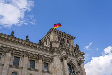 Reichstag building, the seat of the German parliament