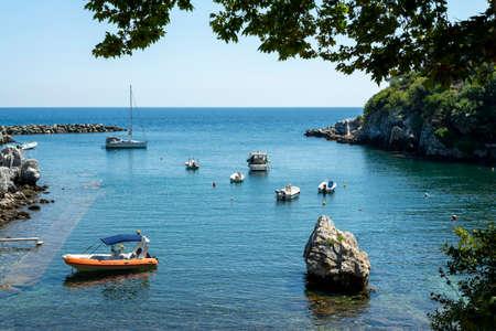 Greek fishing village at Damouchari of Pelion in Greece.