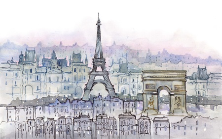 view from below: Paris