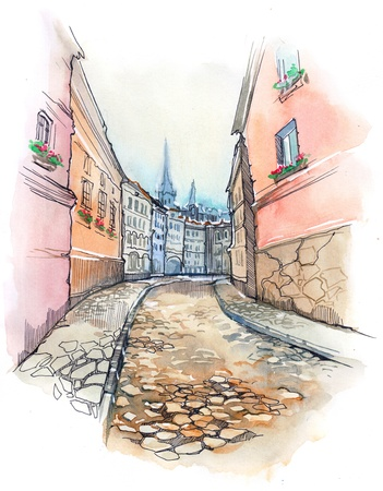 old street photo