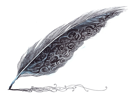 feather pen: magic pen (series C)