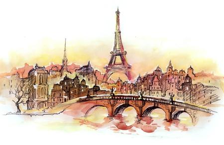 sunset in Paris (series C)