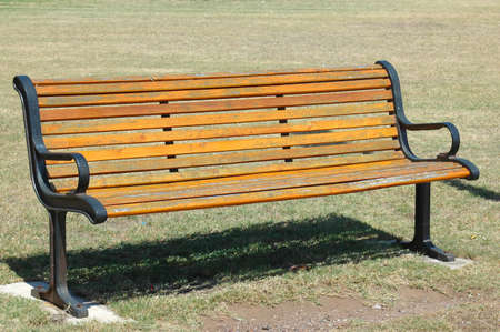 Excellent An Old Lonely Wooden Bench In A Park In South Africa Beatyapartments Chair Design Images Beatyapartmentscom