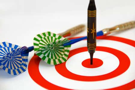 the success in dart Stock Photo - 2765727