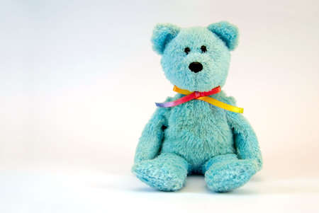 the miraculous blue bear the toy Stock Photo