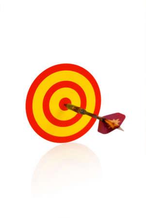 the success in dart Stock Photo - 2788843