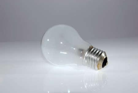 florescent light: compact florescent light bulb