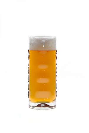 Fresh glass of pils beer with froth Stock Photo - 2926429