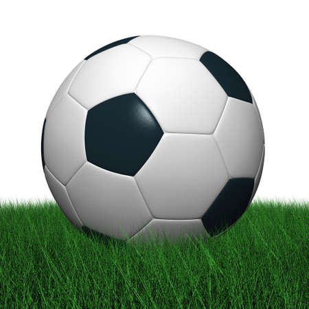 premiership: Soccer ball Photorealistic 3D rendering.