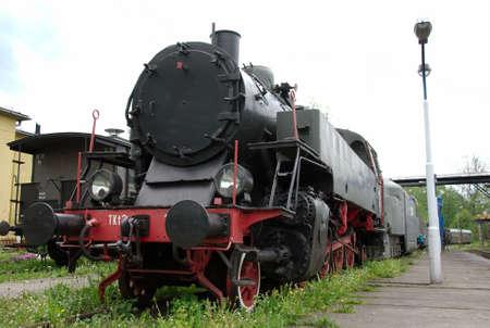 historic steam train in Poland Stock Photo - 3097984