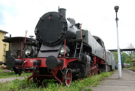 historic steam train in Poland Stock Photo - 3097984