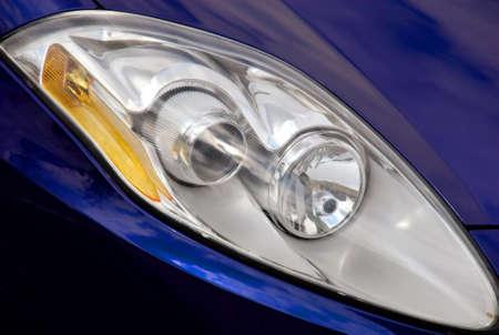 reflector: Car reflector Stock Photo
