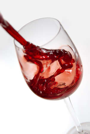 winetasting: Red Wine Pouring
