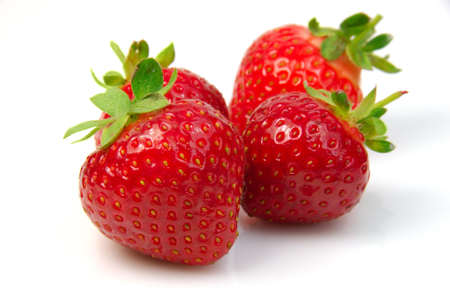 Shot of a pile of fresh strawberries Stock Photo - 3185650