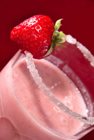 chandler: Strawberry milkshake