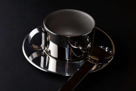 coffee hour: coffee cup Stock Photo