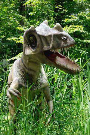 Eustreptospondylus, Saurierpark, Kleinwelka, Germany