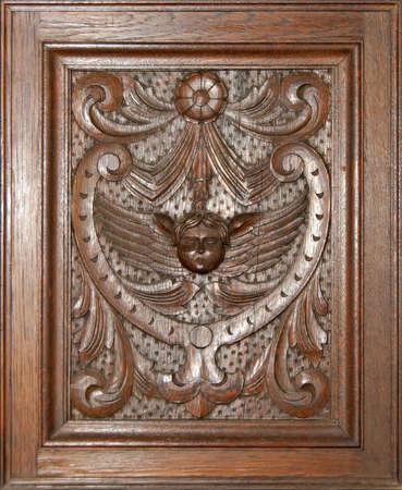 Wood decoration  Stock Photo