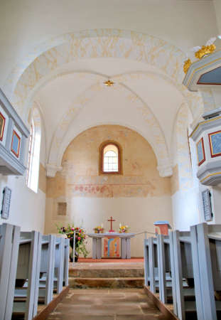main nave in the church
