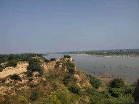 'Banas' river view point in SwaiMadhopur, India