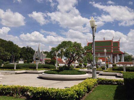iii: King Rama III Memorial Park 3 Stock Photo