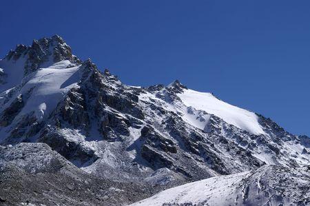 Mountains. Elbrus region. Gorge Adyr-Su.