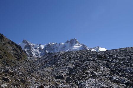 Mountains. Elbrus region. Gorge Adyr-Su