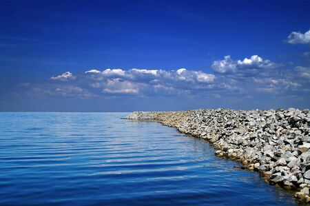 Sky and sea photo