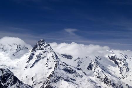 dombai: Caucasus Mountains. Dombai. Belalakaya. Stock Photo