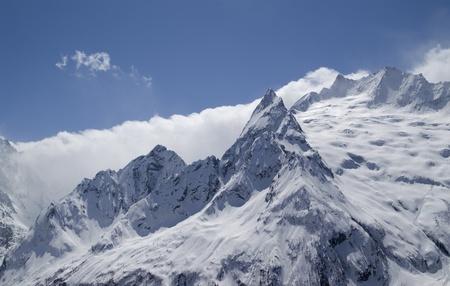 cocaina: Aiguille. Caucaso. Dombay. Ine di picco. Archivio Fotografico