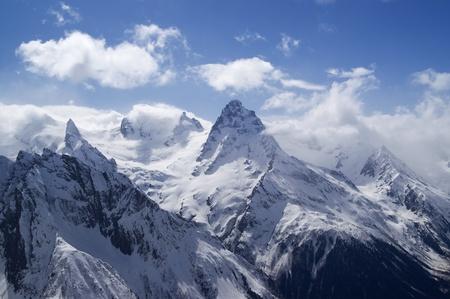 dombai: Mountains. Caucasus. Dombai.