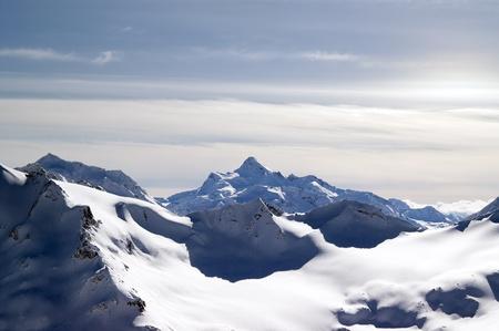 Caucasus Mountains. View from Elbrus. Stock Photo - 9921553